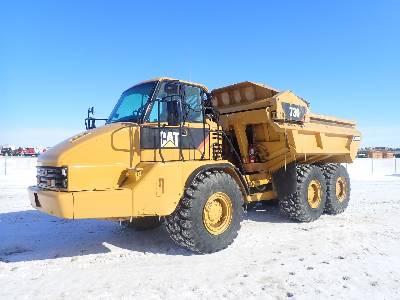 2008 CATERPILLAR 730EJ Ejector Articulated Dump Truck