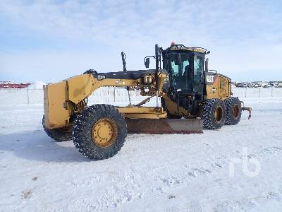 2008 CATERPILLAR 160M AWD VHP Plus Motor Grader
