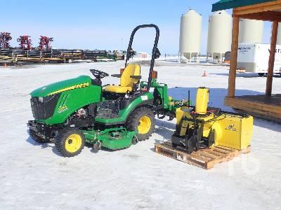 2012 JOHN DEERE 1026 Utility Tractor