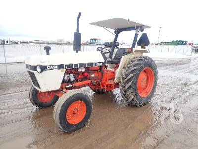 1980 CASE IH 1390 2WD Tractor