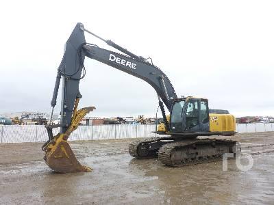 2008 JOHN DEERE 270D LC Hydraulic Excavator