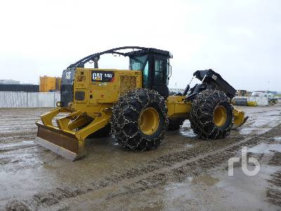 2017 CATERPILLAR 545D Grapple Skidder