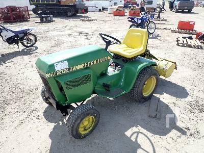 JOHN DEERE 212 2WD Tractor