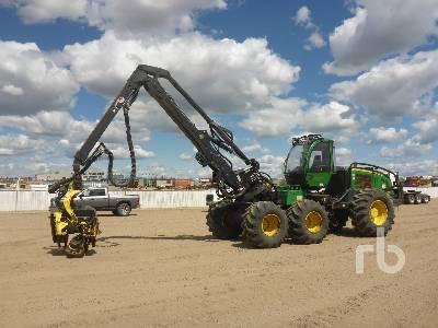 2012 JOHN DEERE 1470E 6x6 Harvester