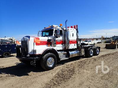 2004 KENWORTH C500B T/A Sleeper Winch Tractor
