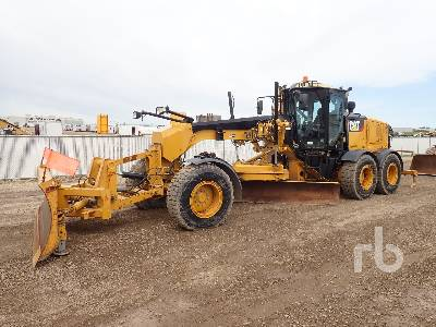 2013 CATERPILLAR 160M Series II VHP Plus Motor Grader
