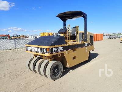 2006 CATERPILLAR PS150C 9 Wheel Pneumatic Roller