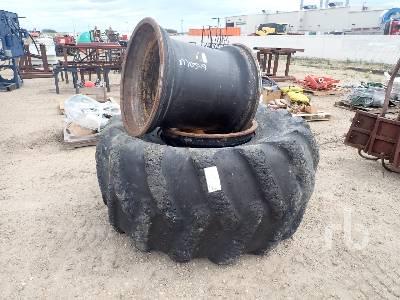 FIRESTONE Skidder Tire & (2) Rim