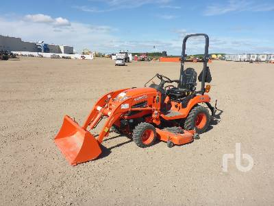 2017 KUBOTA BX2370 4WD Utility Tractor