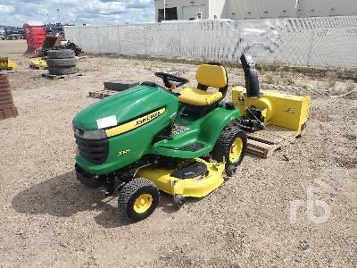2012 JOHN DEERE X324 Garden Tractor