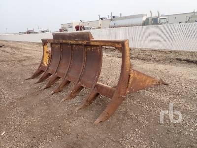 12 Ft 6 In. Brush Crawler Tractor Rake