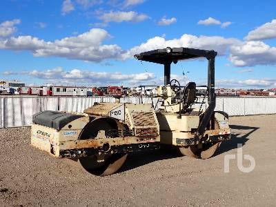 2000 INGERSOLL-RAND DD110 Double Drum Vibratory Roller