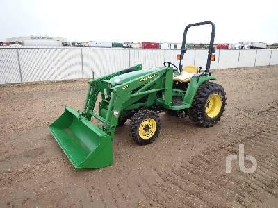 JOHN DEERE 4400 4WD Utility Tractor