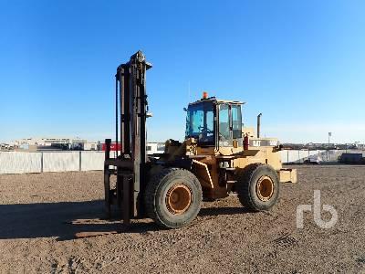 1996 CAT 938F 22500 Lb Rough Terrain Forklift