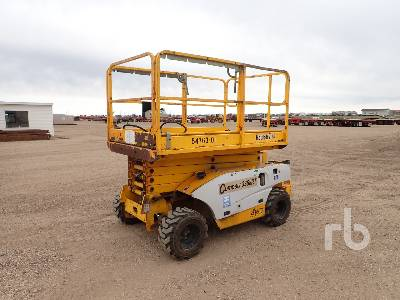 2003 HAULOTTE COMPACT 3368RT 33 Ft 4x4 Scissorlift