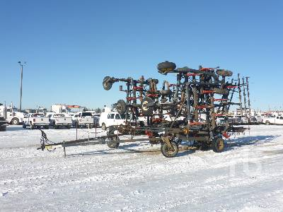 52 Ft 4 Row S-Tine Field Cultivator