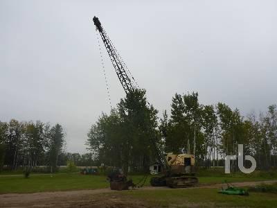 BUCYRUS ERIE 25B 50 Ton Crawler Crane