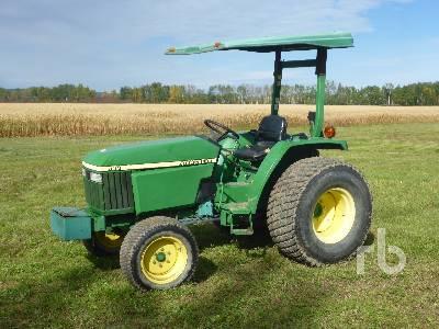JOHN DEERE 990 Turf Utility Tractor
