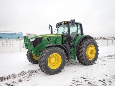 2016 JOHN DEERE 6155M MFWD Tractor