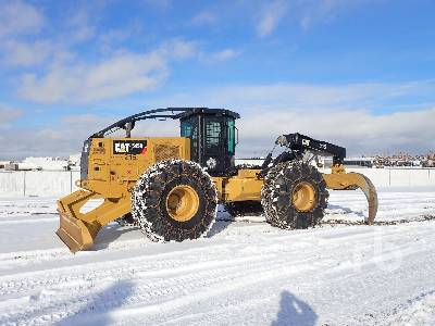 2016 CAT 545D Grapple Skidder