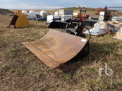 WBM Q/C 84 In. Hydraulic Excavator Chuck Blade