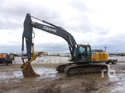 2013 JOHN DEERE 290GLC Hydraulic Excavator