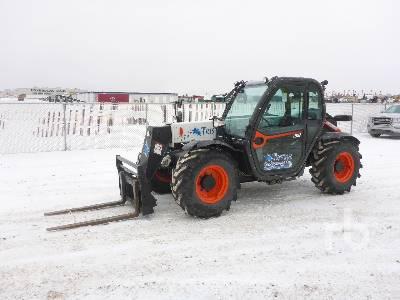 2018 BOBCAT V519 4x4 Telescopic Forklift