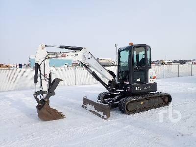 2015 BOBCAT E45 Mini Excavator (1 - 4.9 Tons)