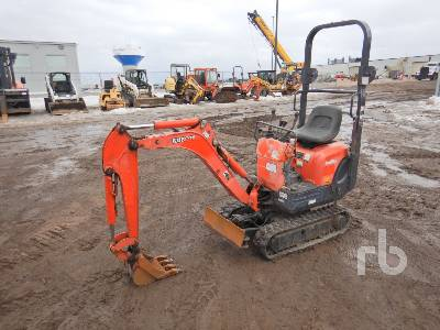 2012 KUBOTA K008-3 Mini Excavator (1 - 4.9 Tons)