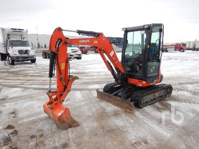 2018 KUBOTA U27-4 Mini Excavator (1 - 4.9 Tons)