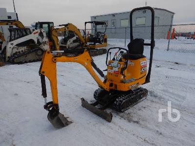 2011 JCB 8008 CTS Mini Excavator (1 - 4.9 Tons)