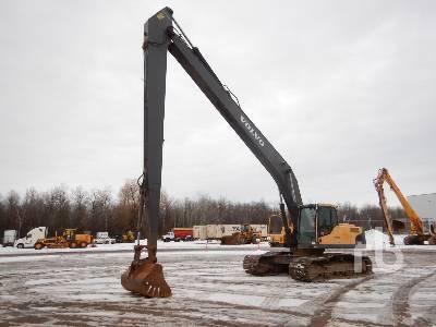 2010 VOLVO EC290C LR Long Reach Hydraulic Excavator
