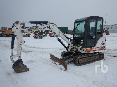 2005 BOBCAT 331G Mini Excavator (1 - 4.9 Tons)