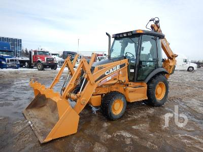 2008 CASE 580SM Series 2 4x4 Loader Backhoe