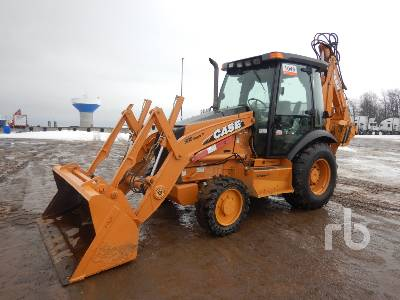 2008 CASE 580SM Series 3 4x4 Loader Backhoe