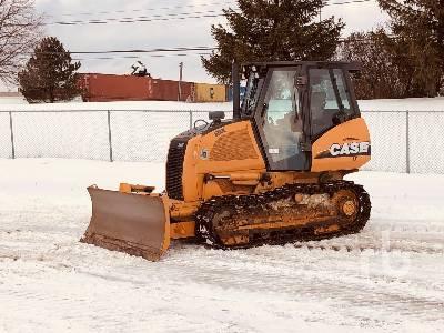 2010 CASE 650L LT Crawler Tractor