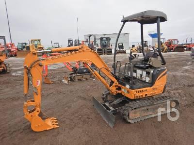 2008 CASE CX17B ZTS Mini Excavator (1 - 4.9 Tons)