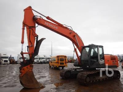 2009 HITACHI ZX200LC-3 Hydraulic Excavator