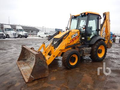 2011 JCB 3CX14-TEC 4x4 Loader Backhoe