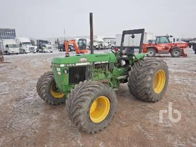 1989 JOHN DEERE 2555 MFWD Tractor