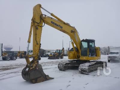 2009 KOMATSU PC228USLC-3E0 Hydraulic Excavator