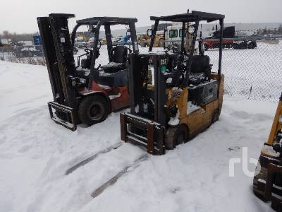 1997 CATERPILLAR GC15 3000 Lb Forklift