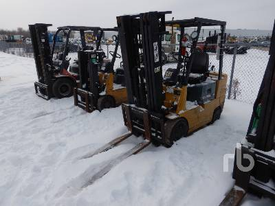 1998 CATERPILLAR GC25 4650 Lb Forklift