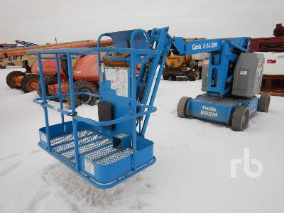 2008 GENIE Z34/22N Electric Articulated Boom Lift