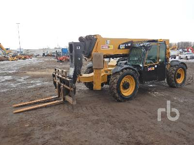 2012 CATERPILLAR TL1255C 12000 Lb 4x4x4 Telescopic Forklift