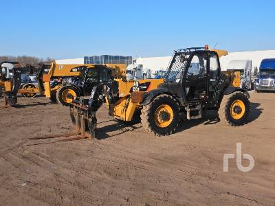 2014 CATERPILLAR TH514C 11000 Lb 4x4x4 Telescopic Forklift