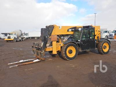 2015 CATERPILLAR TL1055C 10000 Lb 4x4x4 Telescopic Forklift