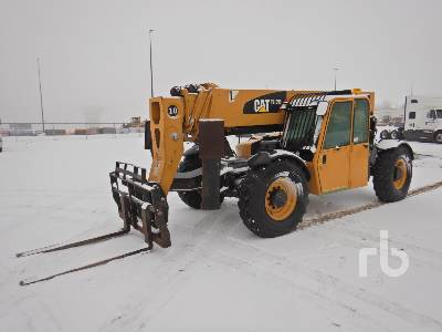 2011 CATERPILLAR TL1055 10000 Lb 4x4x4 Telescopic Forklift