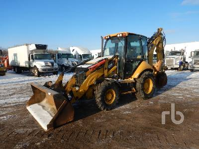 2015 CATERPILLAR 420FIT 4x4 Loader Backhoe