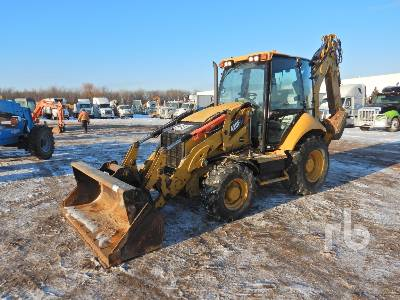 2014 CATERPILLAR 420FIT 4x4 Loader Backhoe